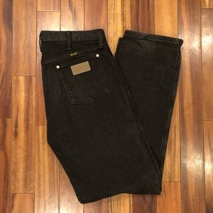 Dark Brown Wrangler Regular Jeans